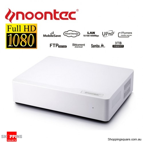 Noontec N5 Gigalink Home NAS Media Centre, Media And Cloud Storage for PC, Smartphone and Tablet