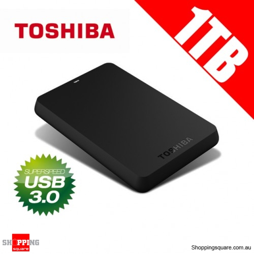 Toshiba 1TB Canvio Basics USB 3.0 Portable External Hard Drive