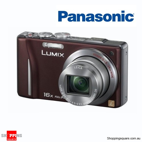 Panasonic Lumix DMC-TZ20/ZS10 Brown Digital Camera