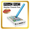 Blue Color Stylus Touch Pen For iPhone  5S 5C 5 4S 4 3S 3G, iTouch 4 4th iPad 2 Samsung Galaxy Tab