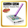 Purple Color Stylus Touch Pen For iPhone 5S 5C 5 4S 4 3S 3G iTouch 4 4th iPad 2 Samsung Galaxy Tab