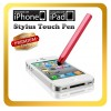 Red Color Stylus Touch Pen For iPhone 5S 5C 5 4S 4 3S 3G iTouch 4 4th iPad 2 Samsung Galaxy Tab