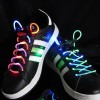 1 Pair Magic LED Light Up Shoelaces Flash Stick Shoestring New