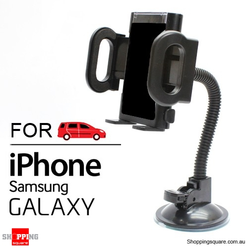 Universal Car Holder for iPhone X 8 7 6 Samsung Galaxy S9 S8 S7 Android Phone iPod MP3