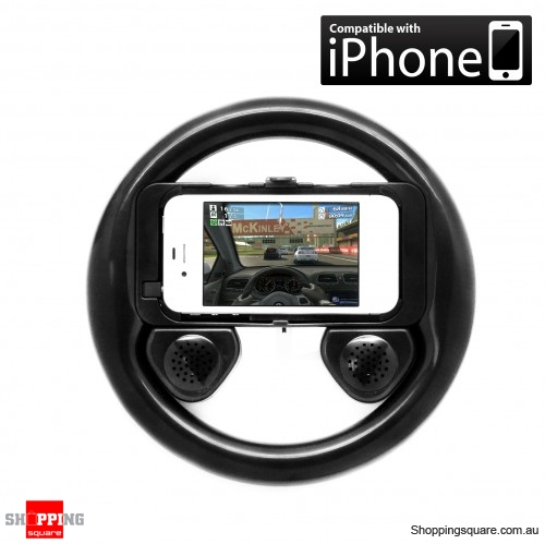 Steering Wheel With Speaker For Iphone 4G/3G/4S/ Touch