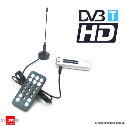 USB HDTV TV tuner for Windows 10 Australia DVB-T 4 Laptop /& PC Record digital TV