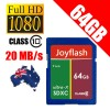 JoyFlash 64GB SD Card SDXC Class10- Extreme Fast