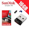 SanDisk Cruzer Fit 16GB CZ33 USB FLASH DRIVE