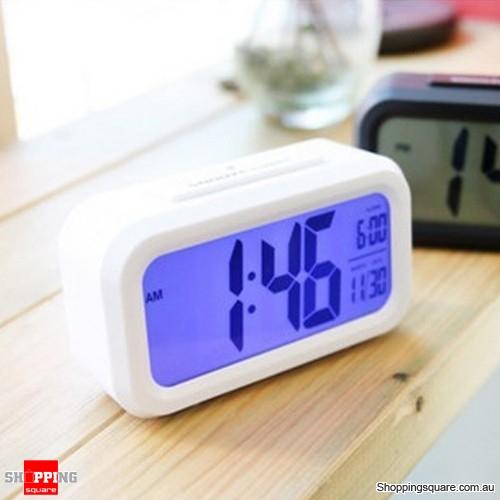 SnoozeLight Large LCD Digital Backlight Alarm Clock