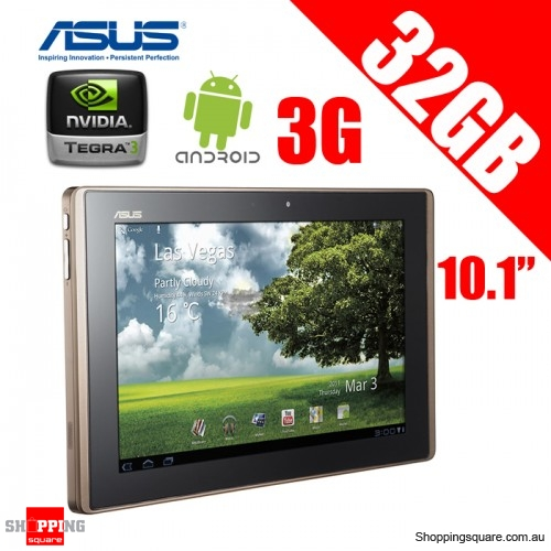 ASUS 32GB WiFi + 3G Eee Pad Transformer 10.1'' Tablet TF101