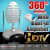 Indoor 360 Degree Rotating Remote Controlled Antenna For TV with Amplifier