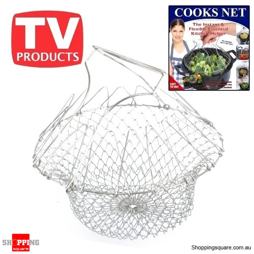 Kitchen Fittings Direct Voucher Code: Perfect Cook Chip Basket Kitchen Chef Cook, Boil, Or Deep