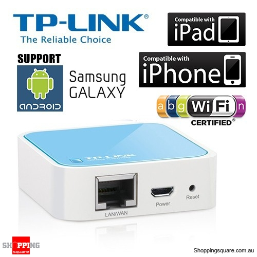 TP-LINK TL-WR702N Traveller's Mini Pocket Wireless AP Router for iPad, Tablet, Smart Phone and Laptop