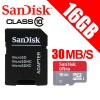 SanDisk Ultra 16GB microSDHC UHS-I U1 memory card Class10 -DS