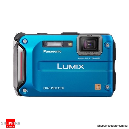 Panasonic Lumix DMC-FT4/TS4 Blue Digital Camera