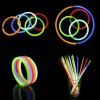 100 X Multi Color Glow Stick Light Bracelets Party Fun