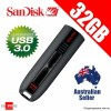 SanDisk Extreme CZ80 USB 3.0 Flash Drive 32GB