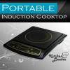 Kitchen Leader Multi-Purpose Portable Induction Cooker Chef Cooktop - Touch Control