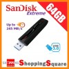 SanDisk Extreme USB 3.0 Flash Drive 64GB