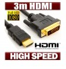 DVI TO HDMI CABLE 3.0m Full HD