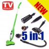 5 in 1 Hygienic Steam Mop 1300W For Carpet, Floor, Rugs, Window Cleaner