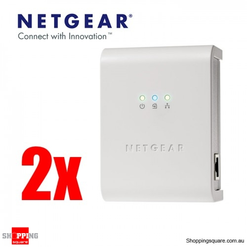 Netgear XETB1001 Powerline Network Adapter Kit (Twin Pack)