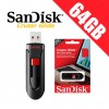 SanDisk Cruzer Glide 64GB USB Flash Drive -DS
