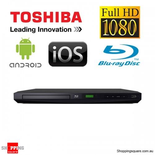 Toshiba BDX1300KY Blu-Ray Disc Full HD 1080p Video DivX Media Player