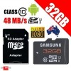 Samsung Micro SDHC 32GB Plus UHS-1 Class 10 48MB/s with SD Adapter
