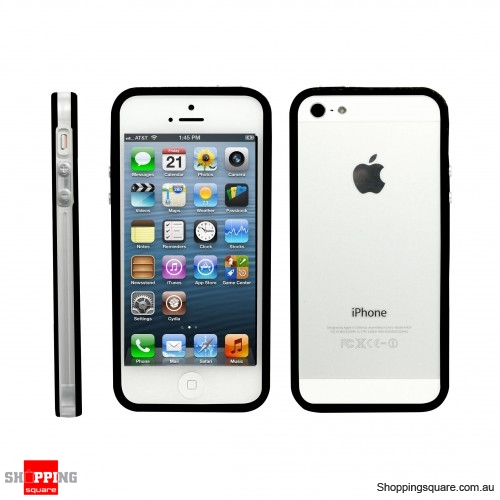 Bumper Cover Frame Case White For IPhone 5S 5 Black Colour