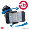 360 Degree Universal car Holder for iPhone, Samsung Galaxy, Smart Phones, PDA, GPS