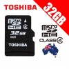 TOSHIBA 32G Micro SDHC Flash Memory Card High-Capacity