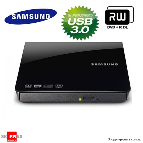 samsung se 208db external slim dvd rw burner usb3 0 mac pc. Black Bedroom Furniture Sets. Home Design Ideas