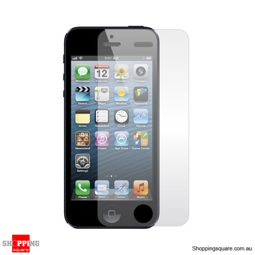Clear Screen Protector Cover For Apple iPhone SE 5, 5S, 5C