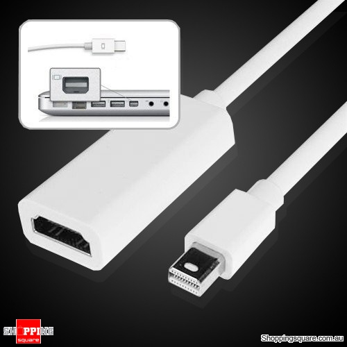 Mini DisplayPort Display Port Male to HDMI Female Cable