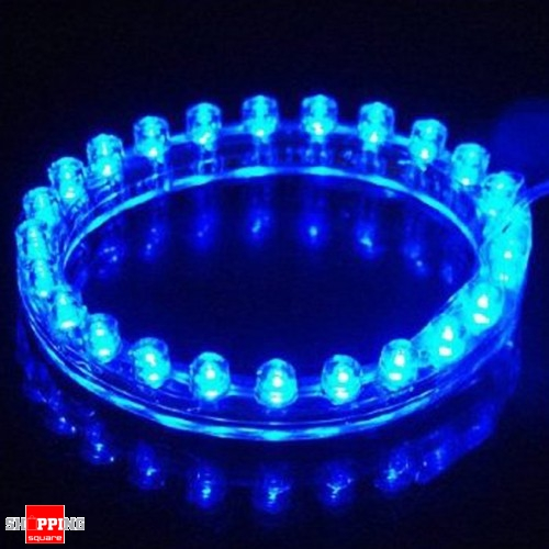 24cm 24 Led Car Neon Waterproof Flexible Strip Light Lamp