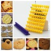 Alphabet Numbler letter cookie biscuit stamp cutter DIY set