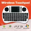 2.4 GHZ Wireless Keyboard Air Mouse Touchpad for PS3 XBOX 360 PAD Windows OS, Mac, Linux