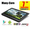 7 inch Android 4.1.1 Many-Core Multi-Touch Tablet PC 4GB WiFi - Support MicroSDHC Up to 32GB