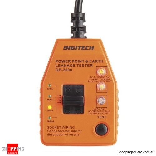 Power Point and Leakage Tester