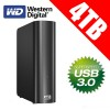 WESTERN DIGITAL MY BOOK 4TB External Hard Drives WDBACW0040HBK
