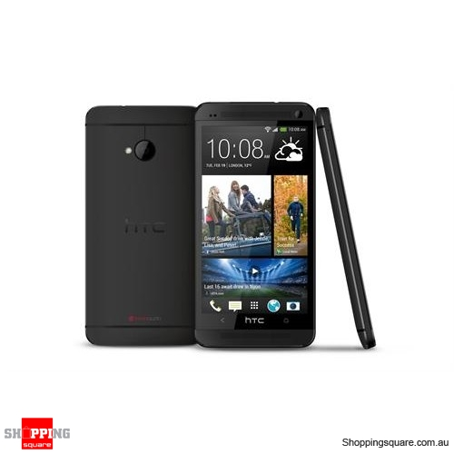 htc one m7 801n 801s smart phone 32gb 4g lte black. Black Bedroom Furniture Sets. Home Design Ideas