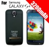 Extended Battery Power Pack Case(Black) For Samsung Galaxy S4 i9500 i9505- 3200mAh