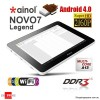 Android 4.0 Many-Core Multi-Touch Tablet PC 8GB WiFi - Support MicroSDHC Up to 32GB