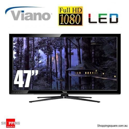 "Viano 47"" Full HD LED TV 1080p HDMI USB port"