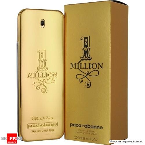 1 Million 200ml EDT SP Men Perfume By PACO RABANNE
