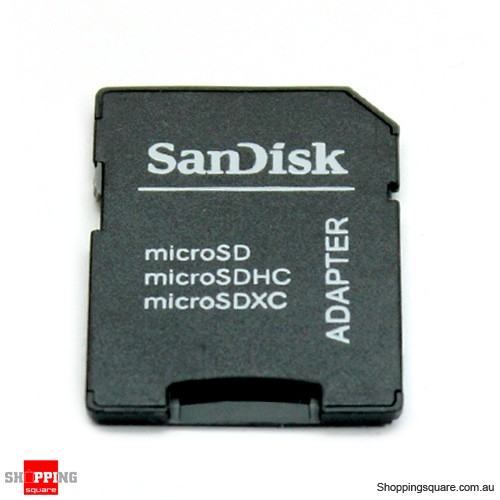 SanDisk MicroSD Adapter to SD Card