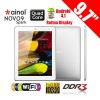Novo9 Spark 9.7 Inch Tablet PC Android 4.1 Quad core 16GB HDMI + Support MicroSDHC Up to 32GB White Colour