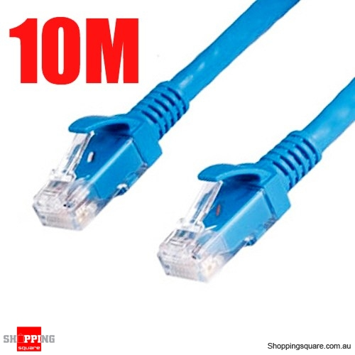 10m rj45 cat5 ethernet lan internet network cable online. Black Bedroom Furniture Sets. Home Design Ideas