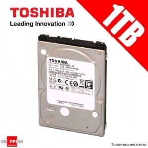 """Toshiba MQ01ABD100 5400rpm, 1TB 2.5"""" SATA Hard Disk"""